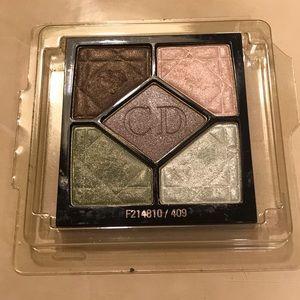 C D 5 colors eyeshadow